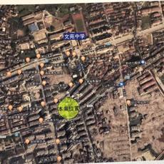 玉虹财富广场三期区位图